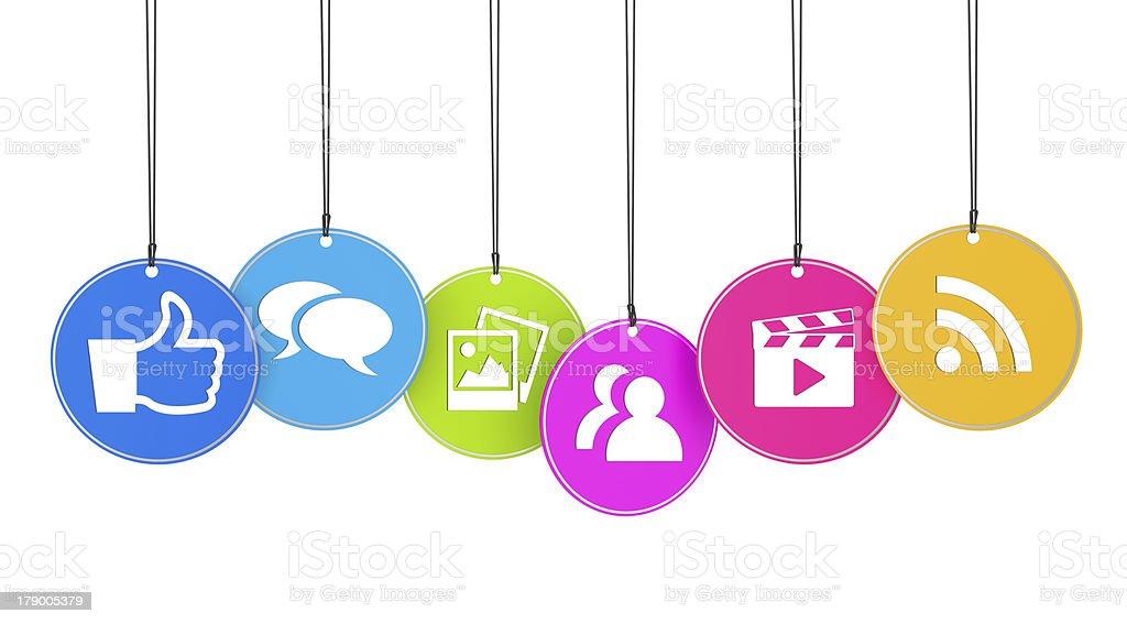 I Like Web And Social Media Concept stock photo