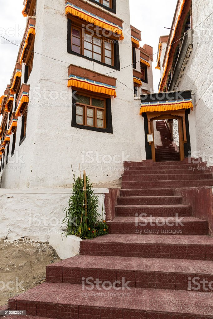 Likir monastery in Ladakh, India stock photo