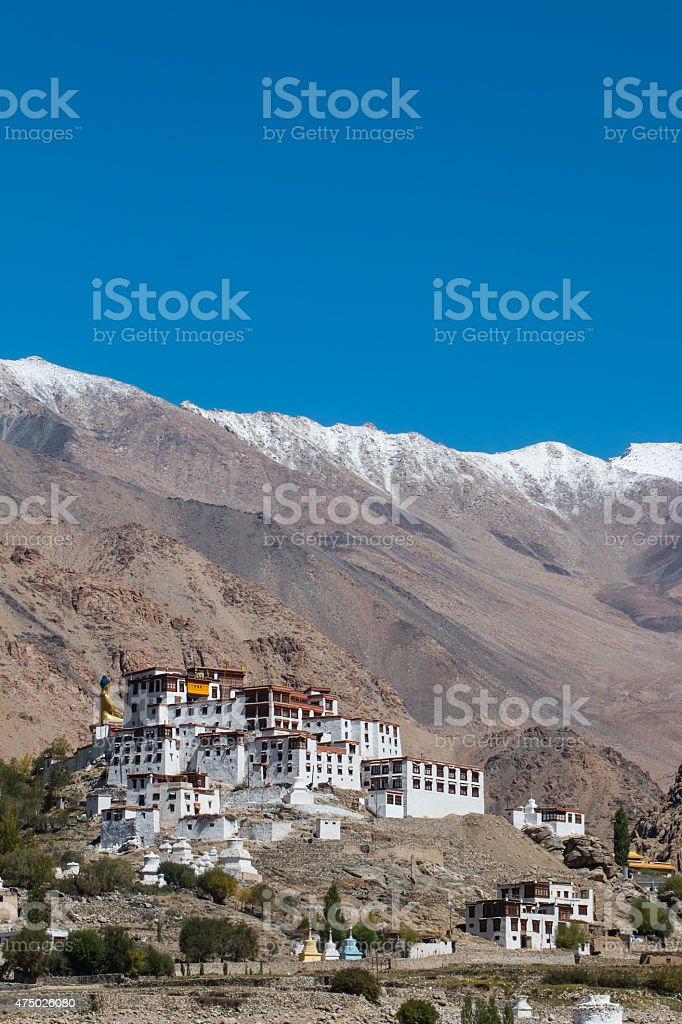 Likir Monastery Ladakh ,India stock photo
