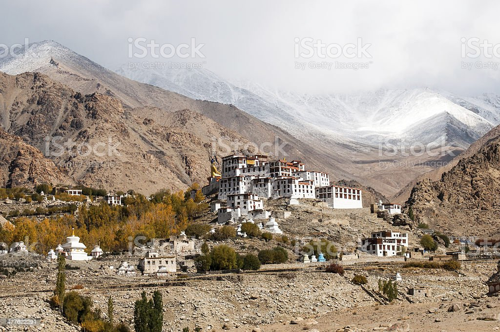 Likir Monastery, Ladakh, India stock photo