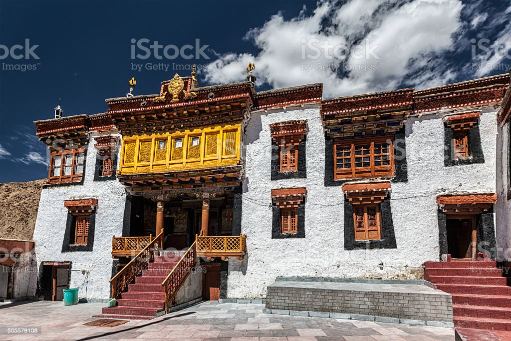 Likir monastery. Ladakh, India stock photo