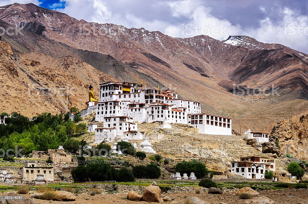 Likir Monastery, Ladakh, India stock photo