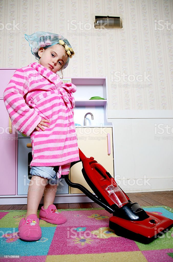 Lil Housewife stock photo