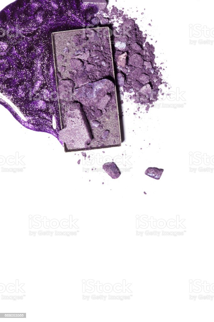 Lilac shadow close-up. stock photo