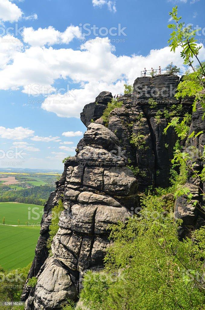 Lilienstein - Saxon Switzerland, GERMANY stock photo