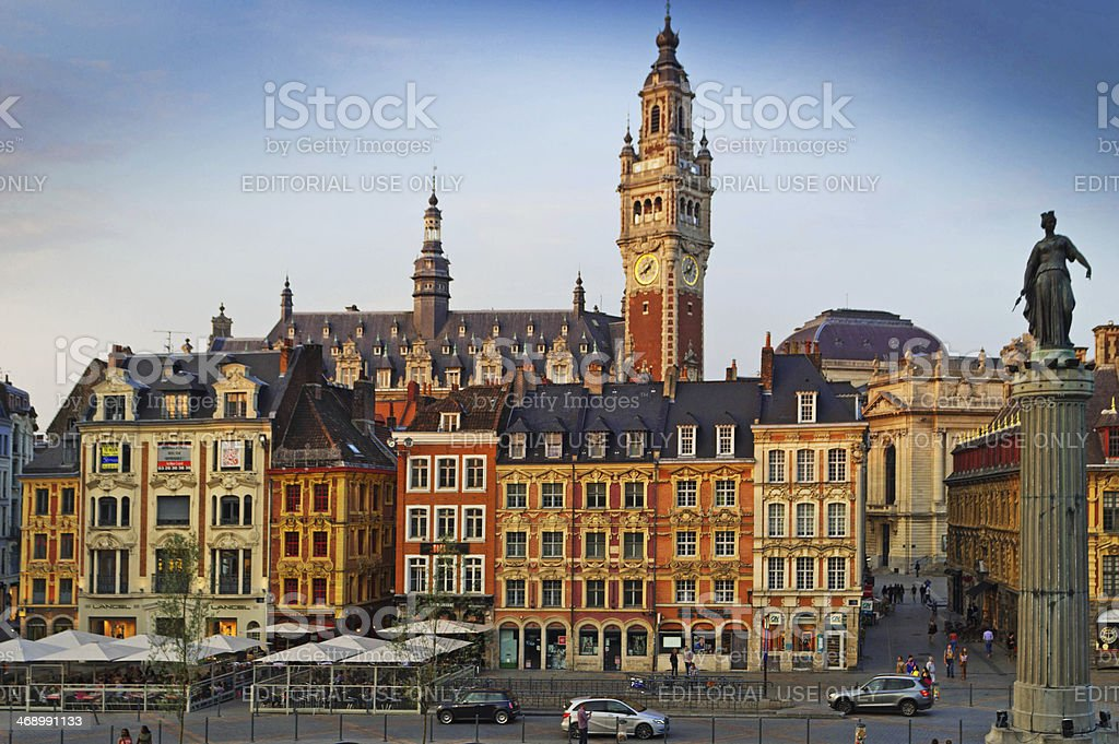 Lille Grand Palais stock photo