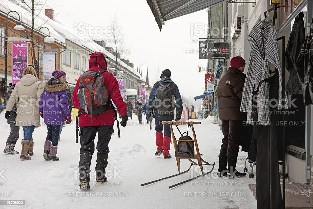 Lillehammer royalty-free stock photo