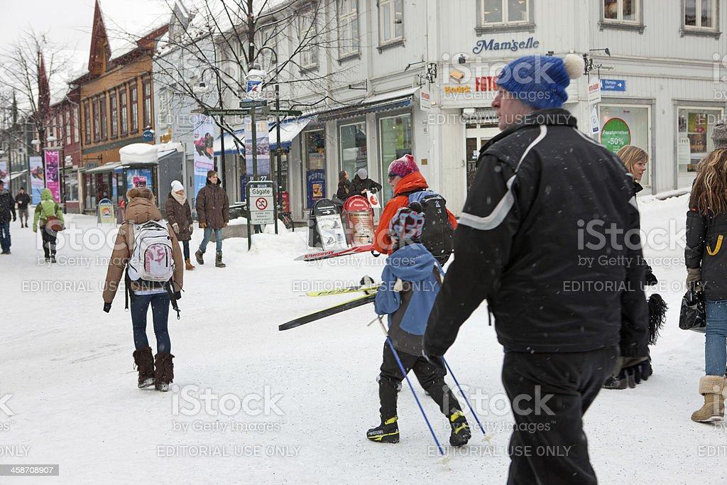 Lillehammer royalty-free stock photo