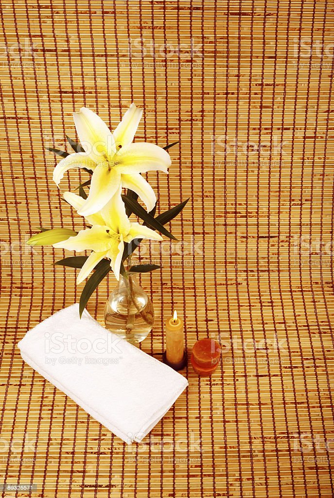 Lily SPA royalty-free stock photo