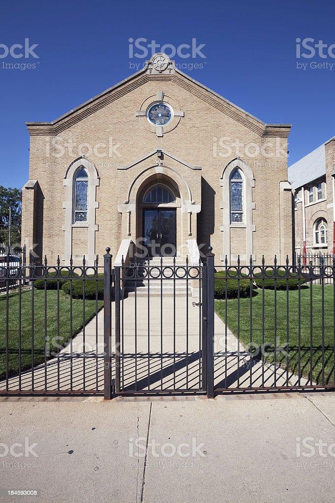 Lilydale Progressive Missionary Baptist Church Chapel in Roselan stock photo