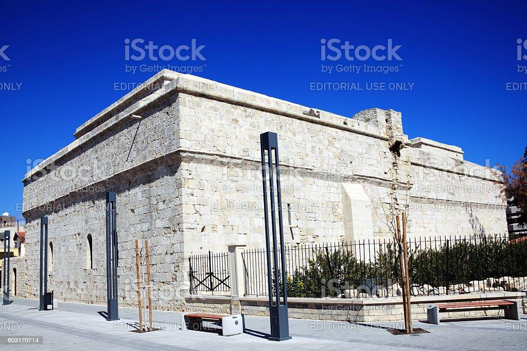 Limassol Castle, Cyprus stock photo