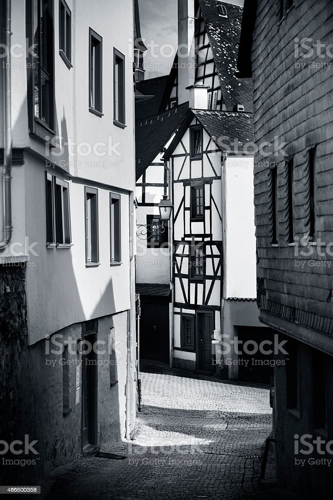Limburg an der Lahn, Germany - medieval town stock photo