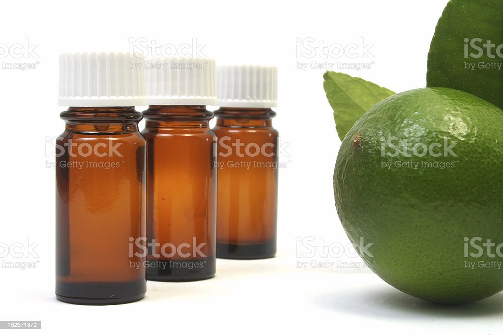 lime bottles royalty-free stock photo