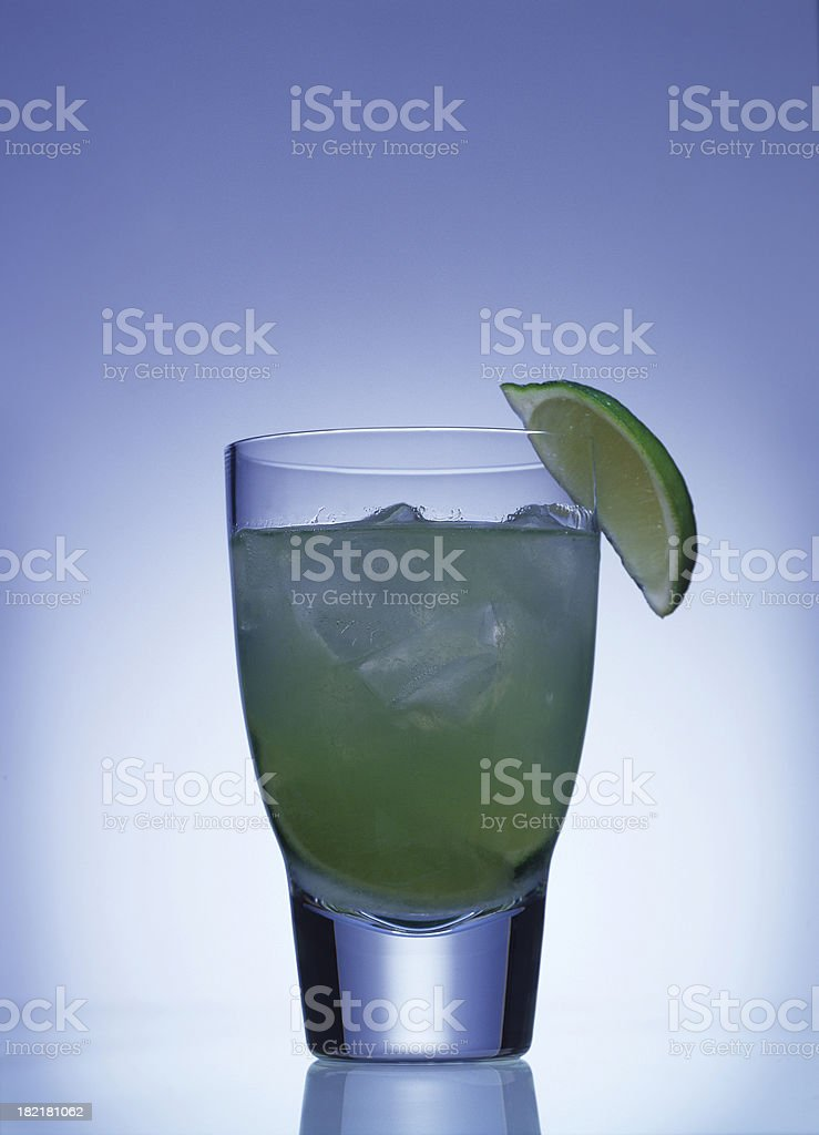 Lime cocktail stock photo