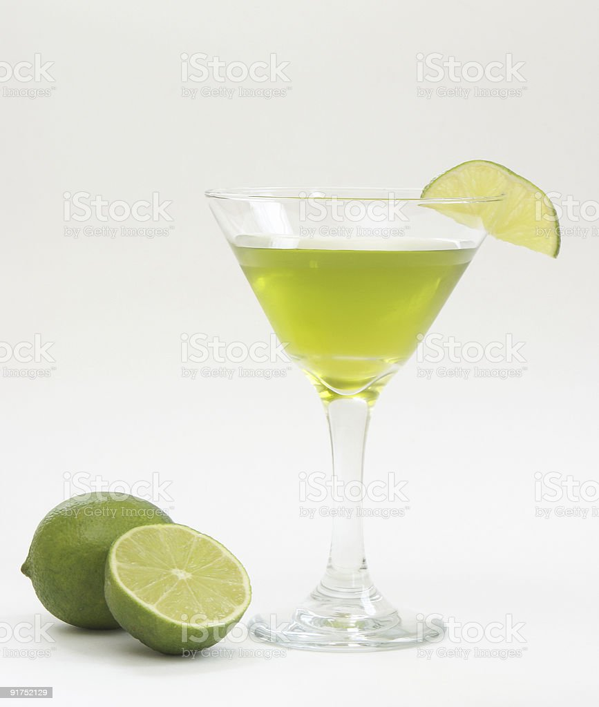 Lime Cocktail royalty-free stock photo
