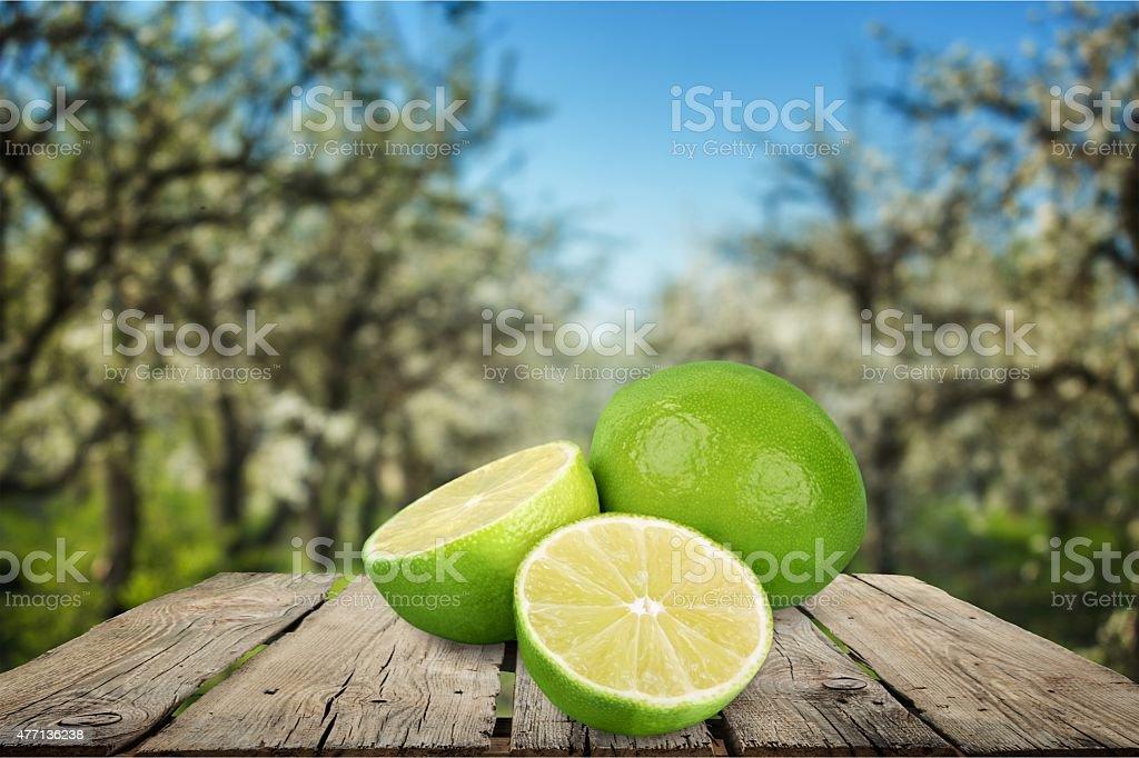Lime, fruit, taste stock photo
