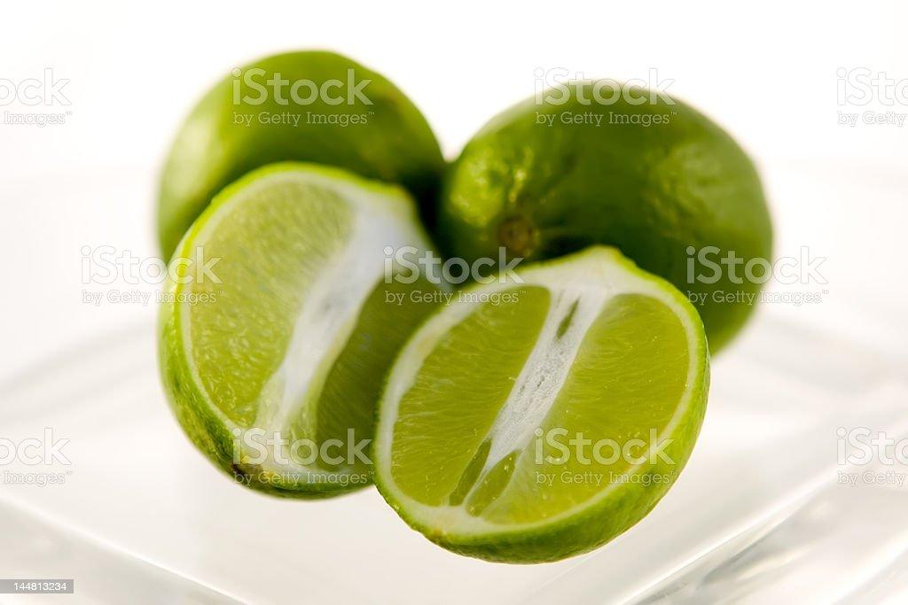 Citron vert havled photo libre de droits