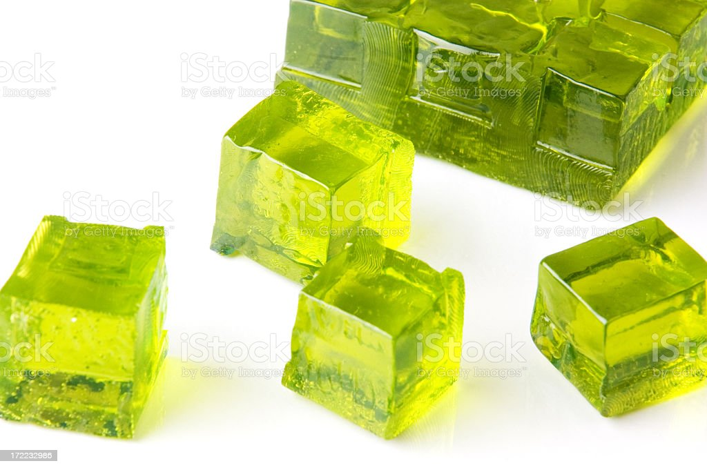 Lime Jelly royalty-free stock photo