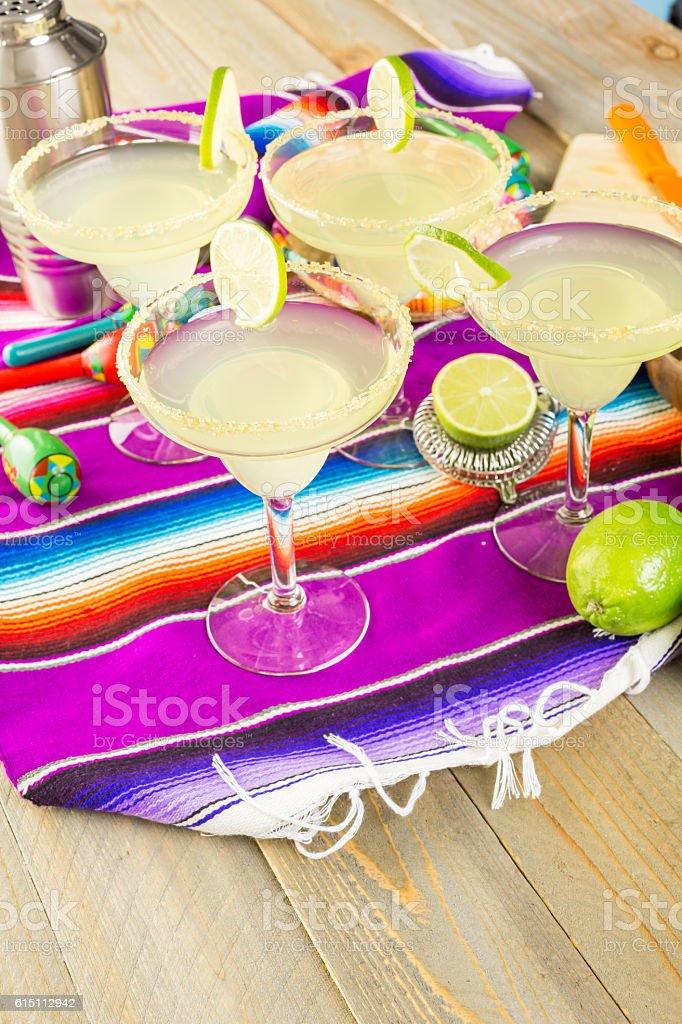 Lime margarita stock photo