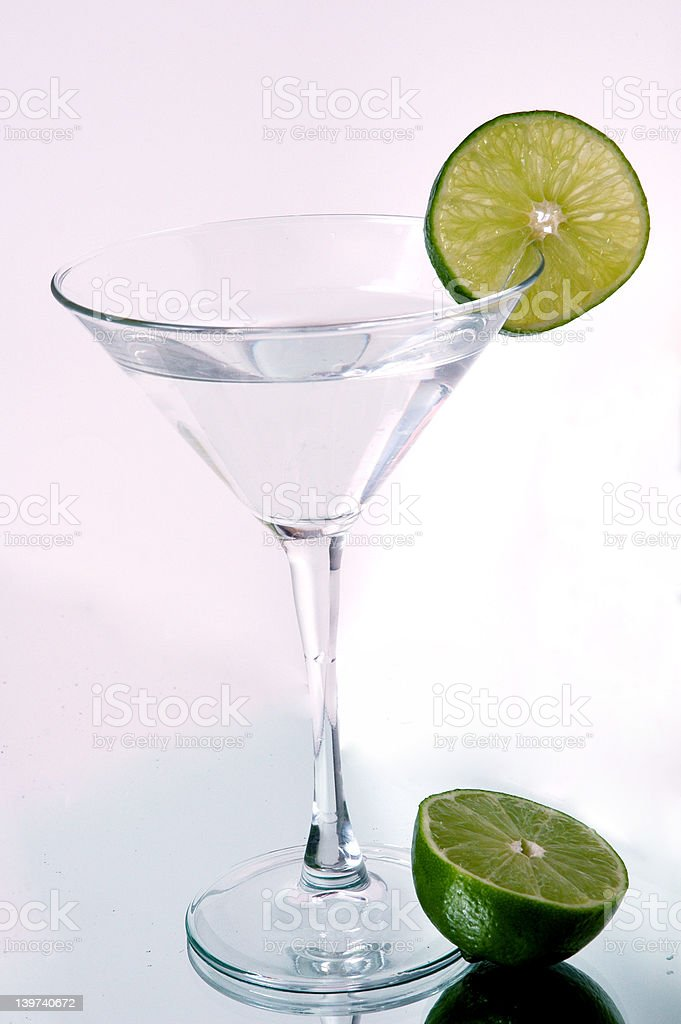 Lime Martini royalty-free stock photo