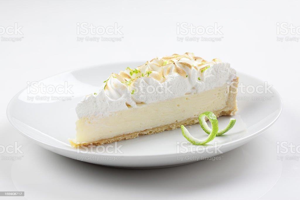 Lime pie stock photo