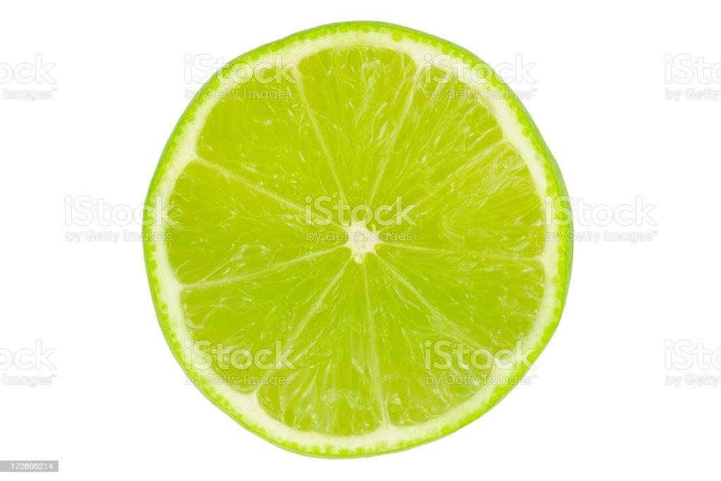 Lime slice stock photo
