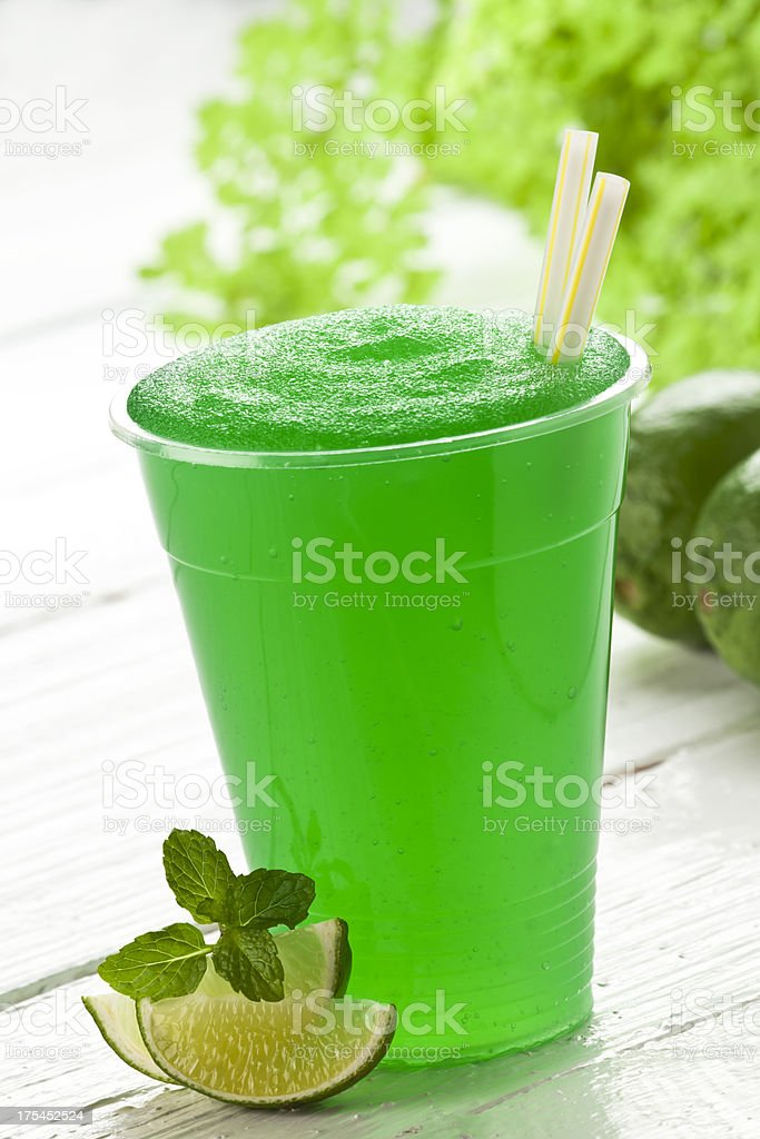 Lime Smoothie royalty-free stock photo
