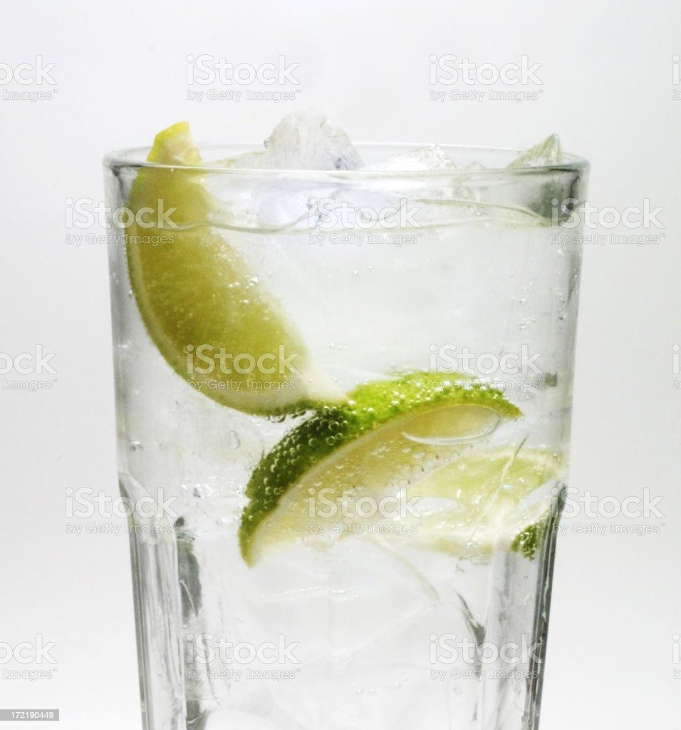 Lime & Soda stock photo