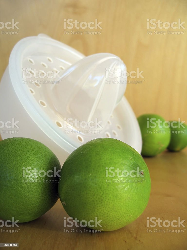 Lime Squeeze 1 stock photo