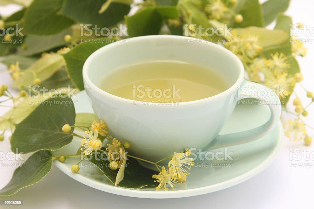Lime tree tea royalty-free stock photo