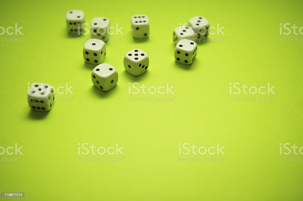 Lime dices royalty-free stock photo