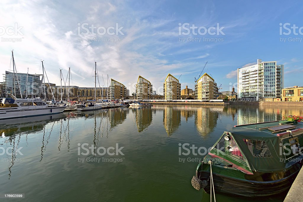 Limehouse Basin, Tower Hamlets, London, England, UK, Europe stock photo