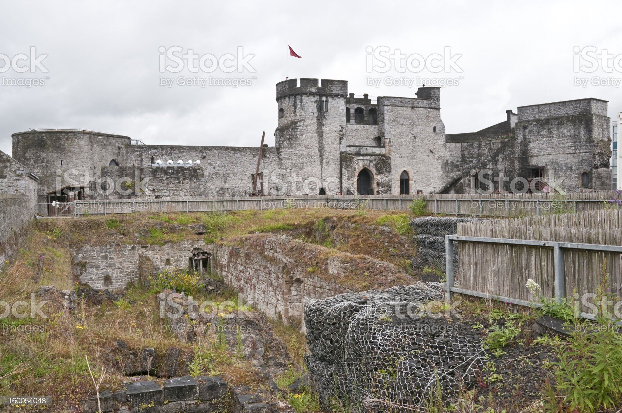 Limerick Castle in Ireland royalty-free stock photo