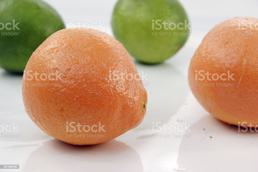 limes and oranges citrus stock photo