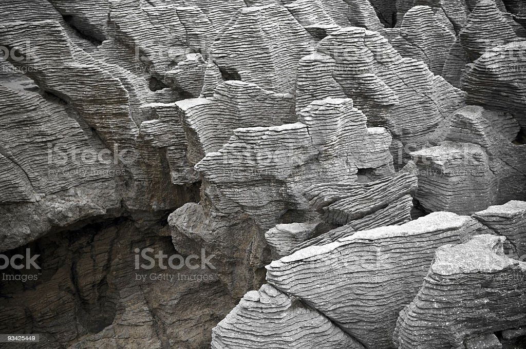 Limestone Abstract stock photo