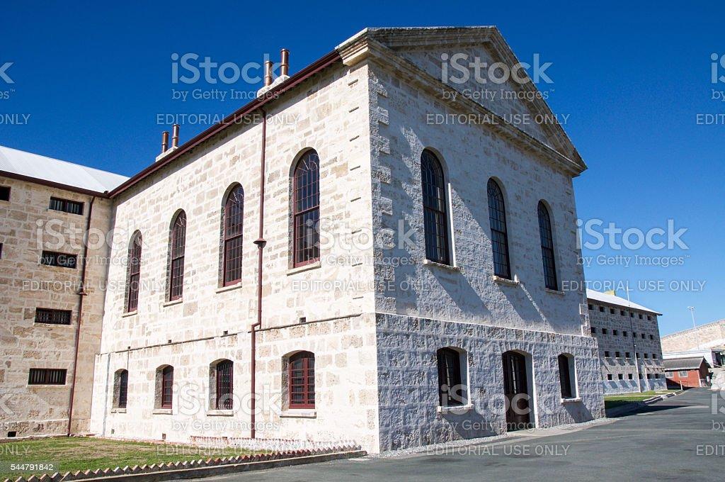 Limestone Architecture: Fremantle Prison stock photo