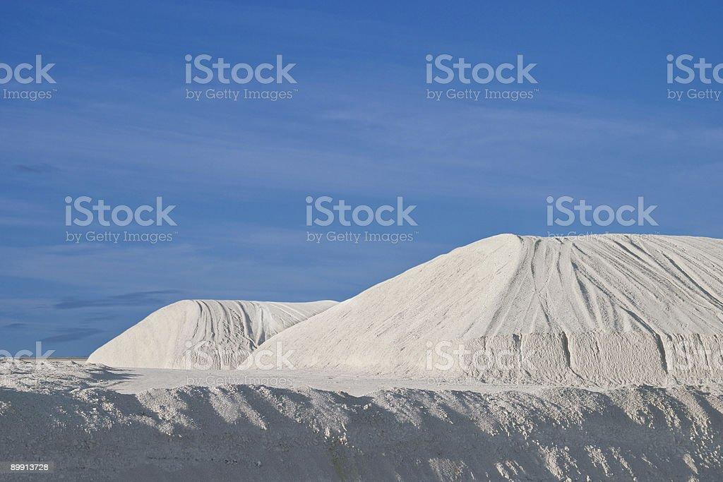 Limestone / Chalk mountains stock photo