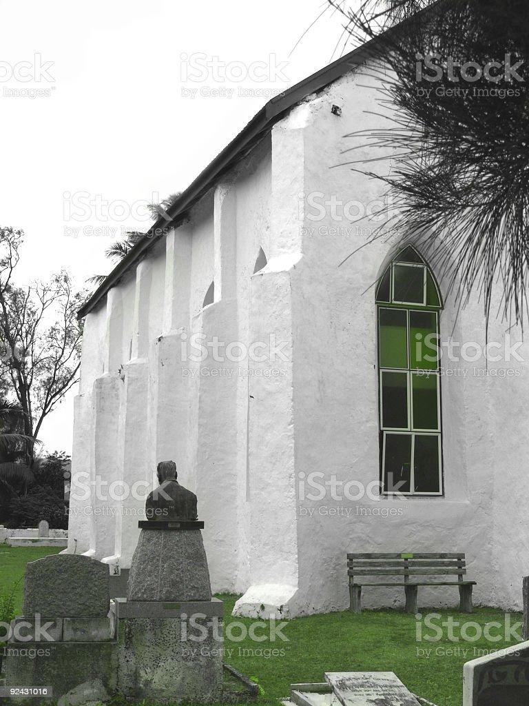 Limestone Church stock photo