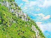 Limestone mountain.