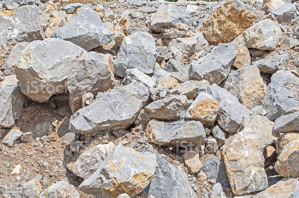 Limestone royalty-free stock photo