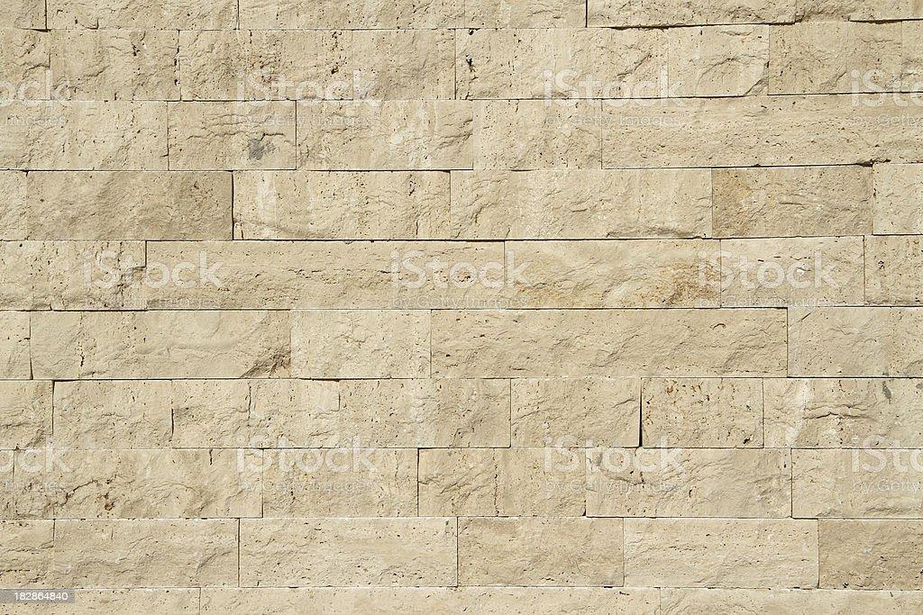 Limestone wall stock photo