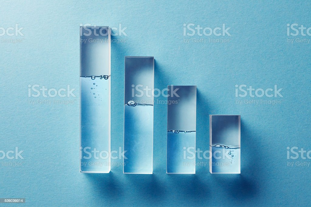 Limited Resource Of Water stock photo