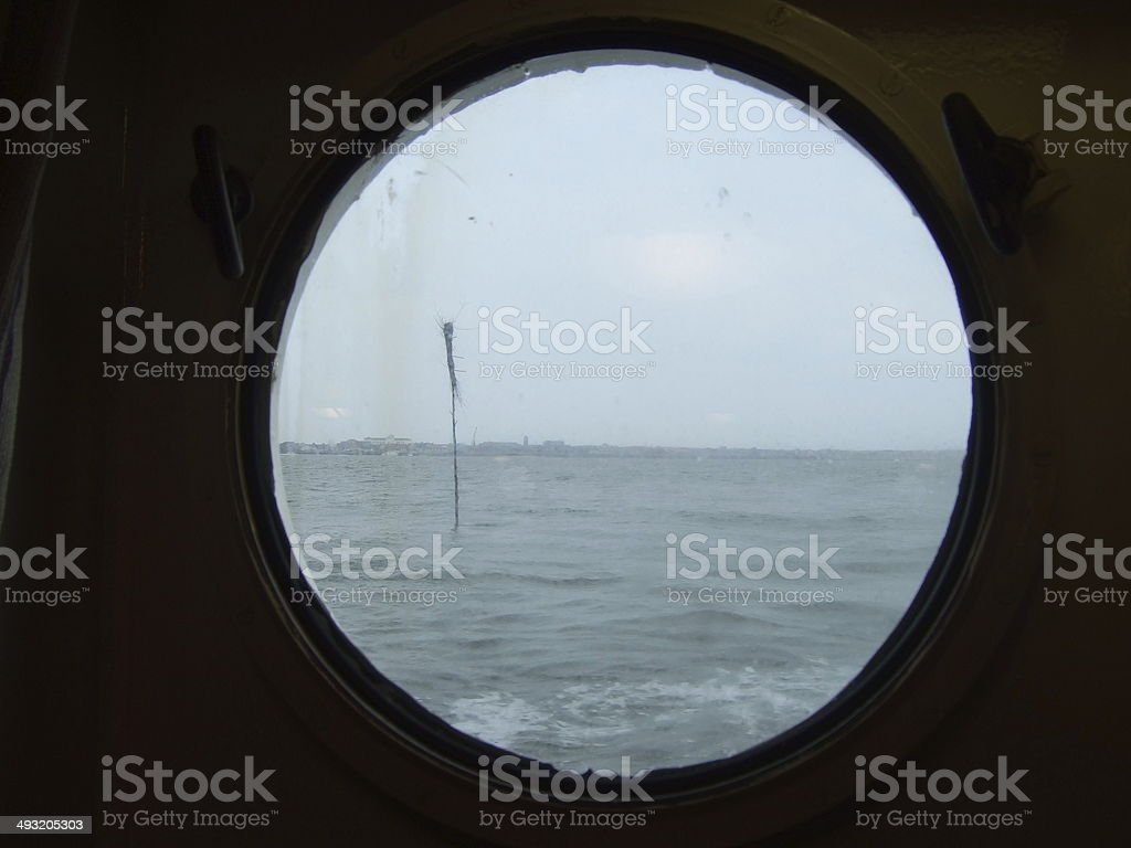 Limited seaview stock photo