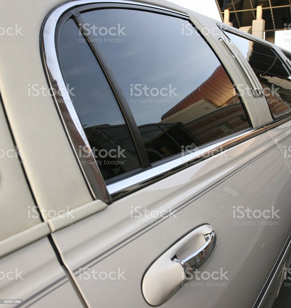 Limo Ride royalty-free stock photo
