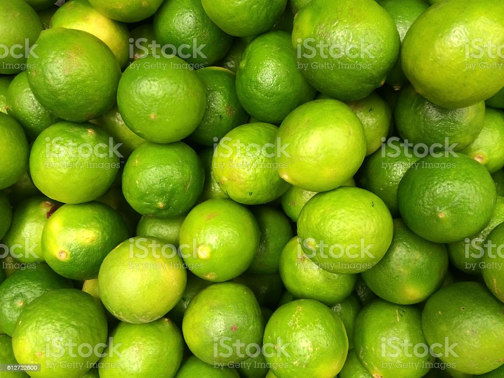 Limon Peruano Peruvian Lime Peruvian Tasty Fruits and Vegetables stock photo