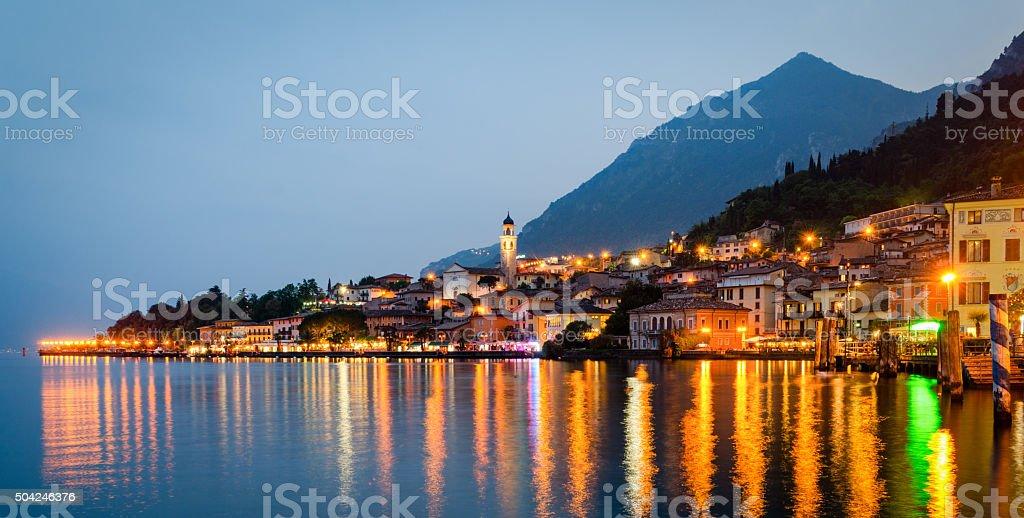 Limone sul Garda, Lago di Garda (Italy) stock photo