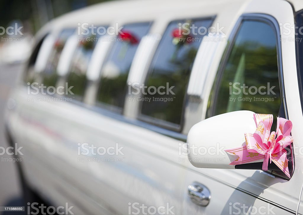 limousine car royalty-free stock photo