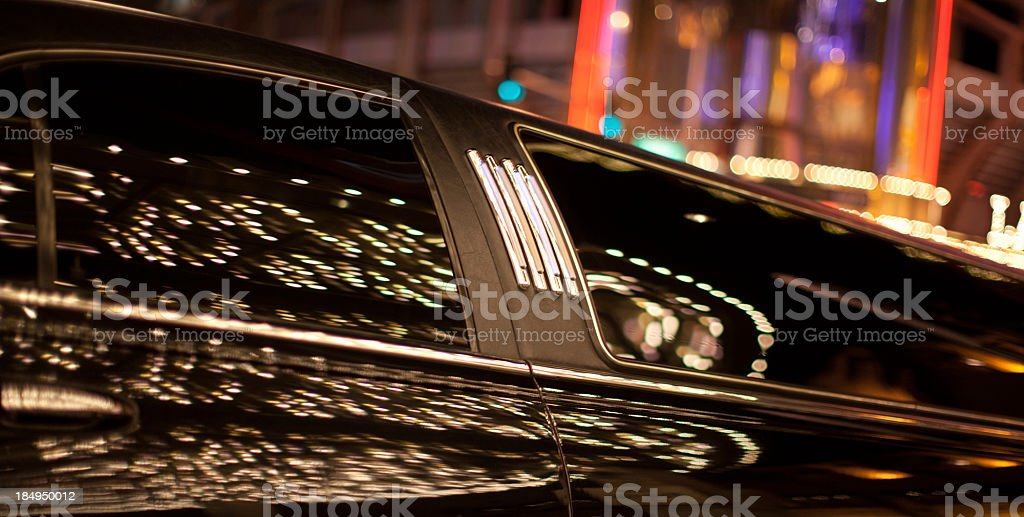 Limousine stock photo