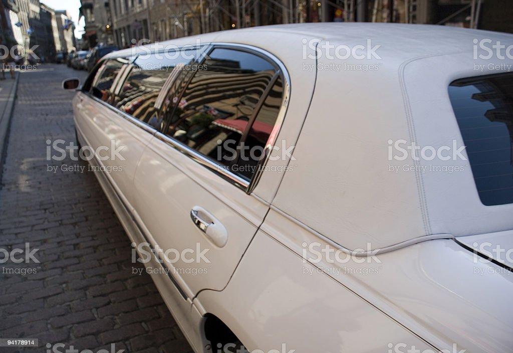 Limousine ride royalty-free stock photo