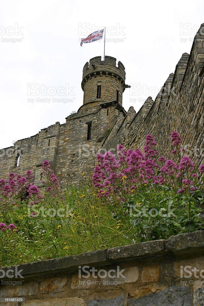 Lincoln Castle stock photo